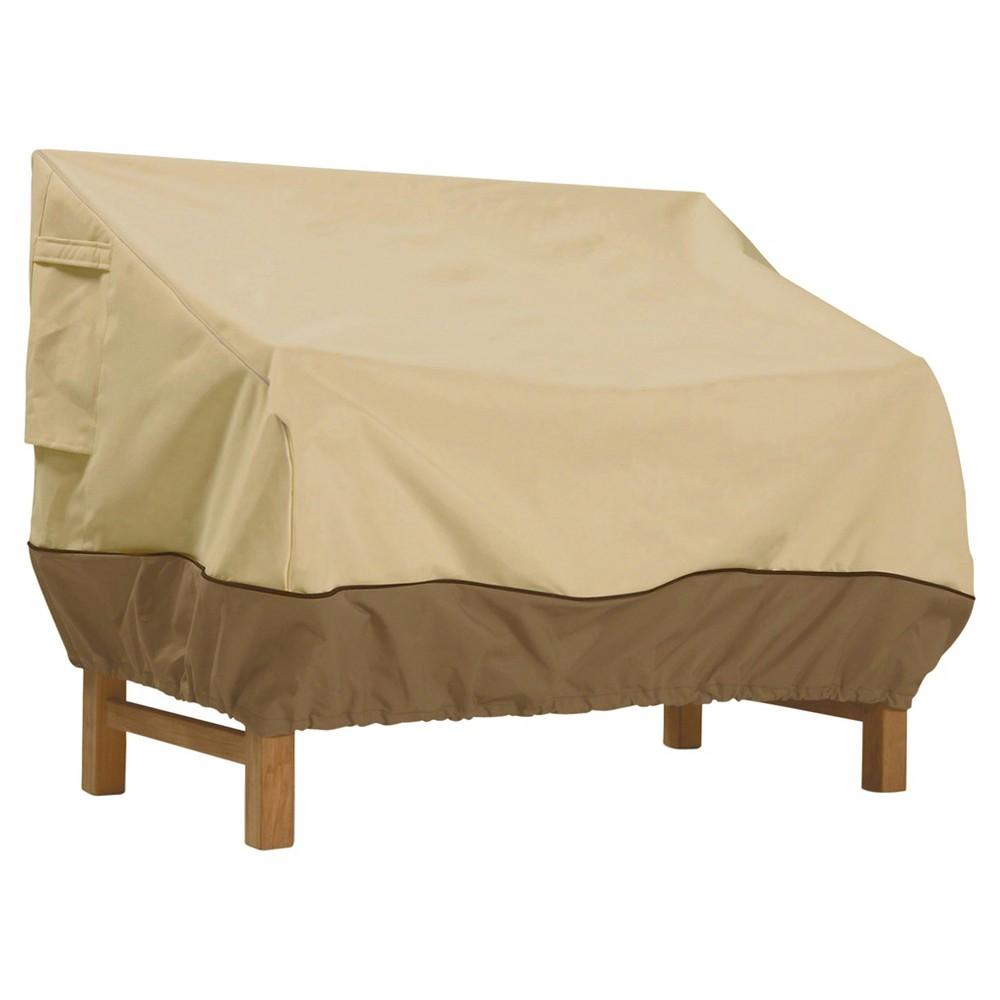Veranda Patio Bench Cover Medium - Light Pebble - Classic Accessories