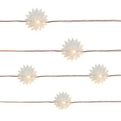 25ct Flower Outdoor LED Mini Fairy String Lights - Threshold™
