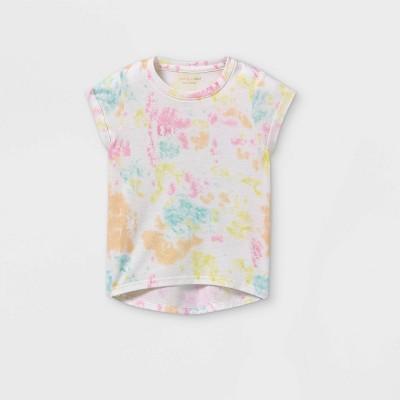 Grayson Mini Toddler Girls' Tie-Dye Short Sleeve T-Shirt