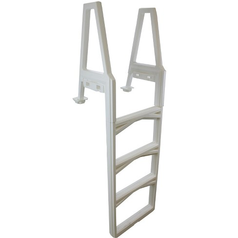 CONFER 635-52 Adjustable In-Pool Above Ground Swimming Pool Ladder 48-56\