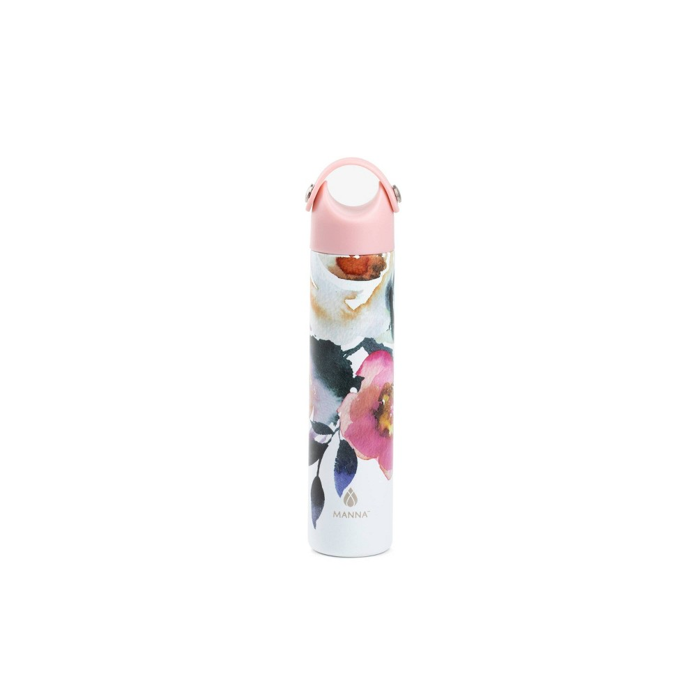 Image of Manna 10oz Stainless Steel Floral Hydration Bottle