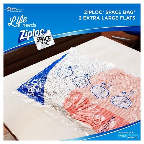 Ziploc 2 Pack Space Bag Extra Large Target