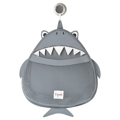 3 Sprouts Baby Bath Organizer - Shark