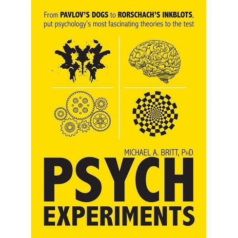 Psych Experiments - by  Michael A Britt (Paperback) - image 1 of 1