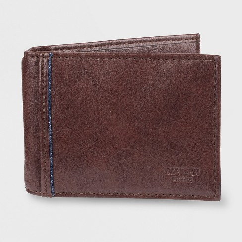 DENIZEN® from Levi's® Front Pocket Wallet - Brown One Size - image 1 of 3