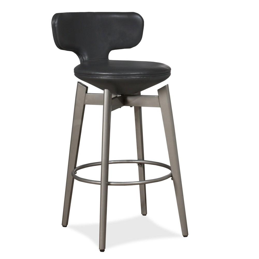 Genesis Barstool Graphite Gray Hillsdale Furniture