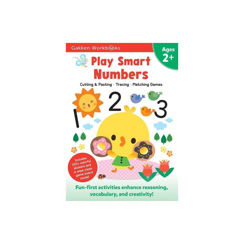 Play Smart Numbers Age 2 By Gakken Early Childhood Experts Paperback