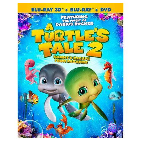 A Turtle's Tale 2: Sammy's Escape From Paradise (Blu-ray) - image 1 of 1