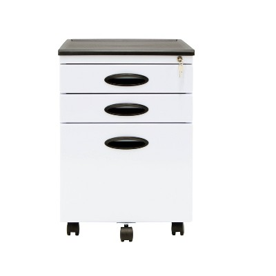 Metal Storage File Cabinet Plus with Casters - Calico Designs