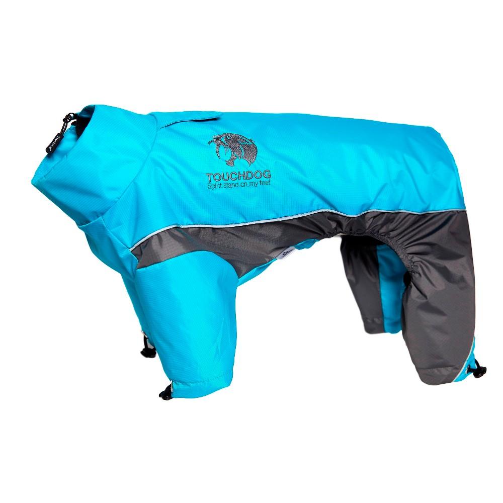 Pet Apparel Touchdog XS Ocean Blue