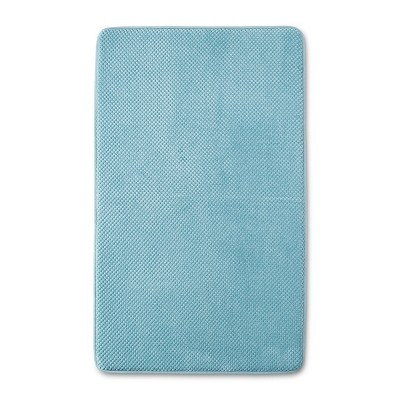 20  x 34  Bubble Memory Foam Bath Rug Surf Green - Threshold™