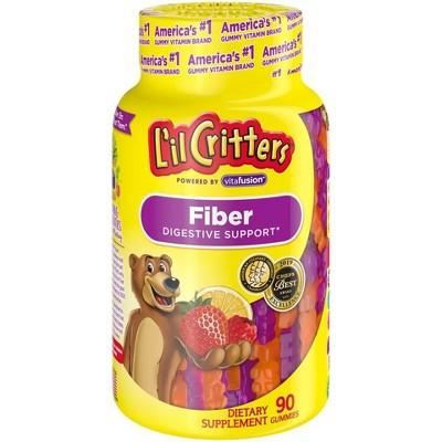 L'il Critters Fiber Gummies - Fruit Flavors - 90ct