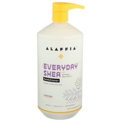 Alaffia Every Day Shea Conditioner - Lavender - 32oz