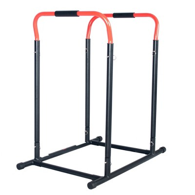 Sunny Health & Fitness High Weight Capacity Adjustable Dip Stand Station