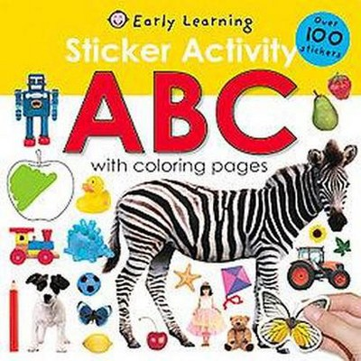 Sticker Activity ABC (Paperback) by Roger Priddy