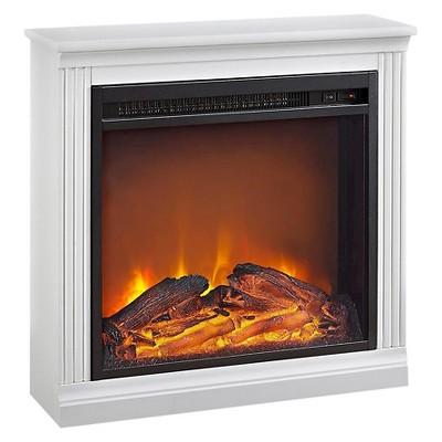 Monterrey Simple Fireplace - White - Room & Joy