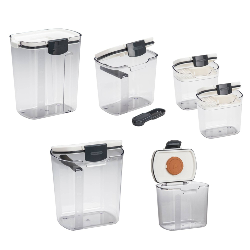 Image of Prepworks 6pc Prokeeper Baker's Storage set, Clear