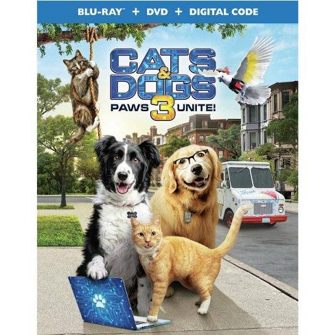 Cats & Dogs 3: Paws Unite! (Blu-ray)(2020) - image 1 of 1