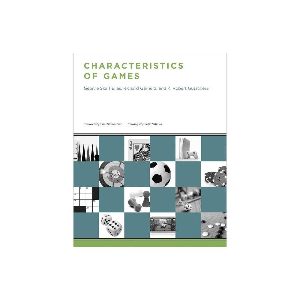 Characteristics Of Games By George Skaff Elias Richard Garfield K Robert Gutschera Paperback
