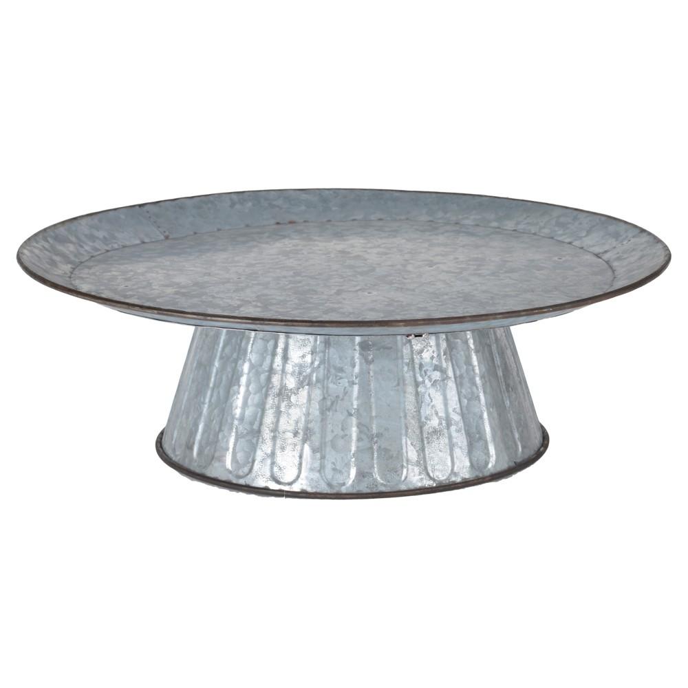 Image of Aluminum Platter - 3R Studios, Silver
