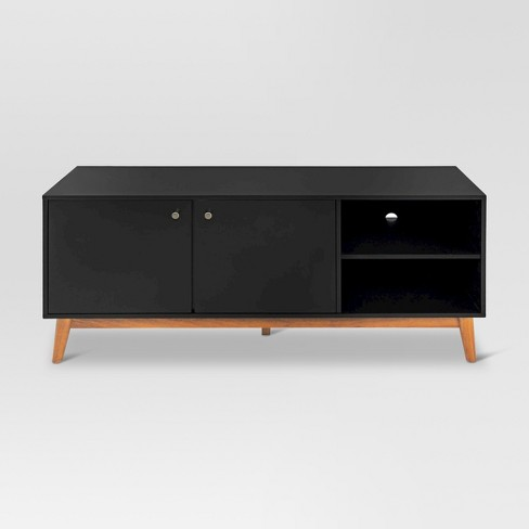 "58"" Amherst Mid Century Modern Two Tone Media Stand  - Project 62™ - image 1 of 6"