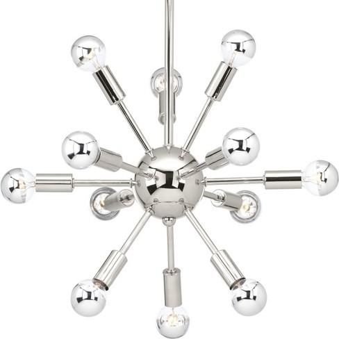 "Progress Lighting P400040 Ion 12 Light 14"" Wide Sputnik Chandelier - image 1 of 1"
