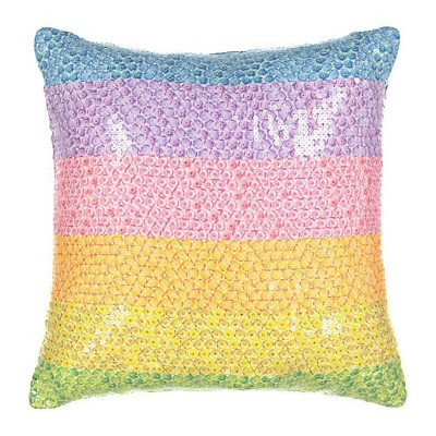"16"" Over The Rainbow Sequin Throw - Spree By Waverly"