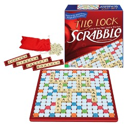 Tile Lock Scrabble Game, board games