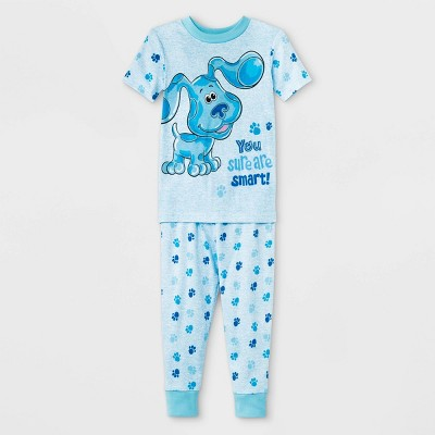 Toddler 2pc Blue's Clues Pajama Set - Blue 2T