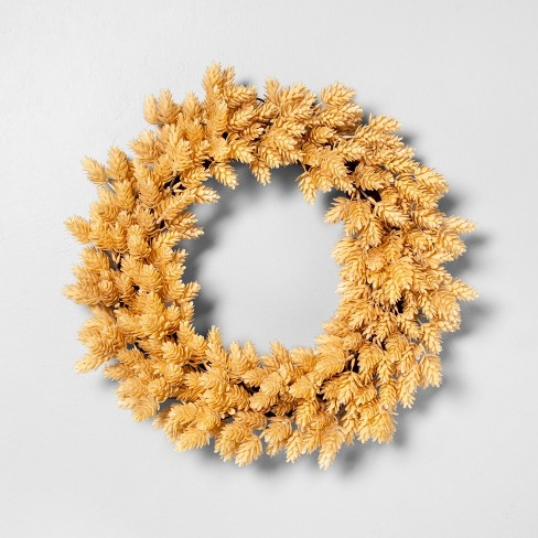 """20"""" Faux Hops Wreath - Hearth & Hand™ with Magnolia - image 1 of 2"""