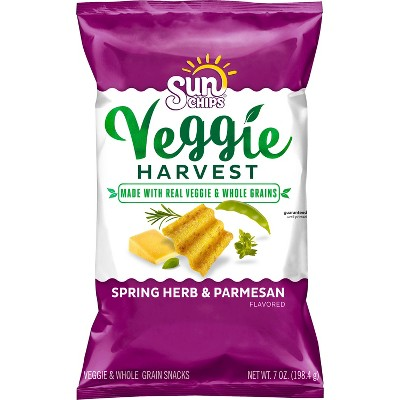 Veggie & Grain Chips: SunChips Veggie Harvest