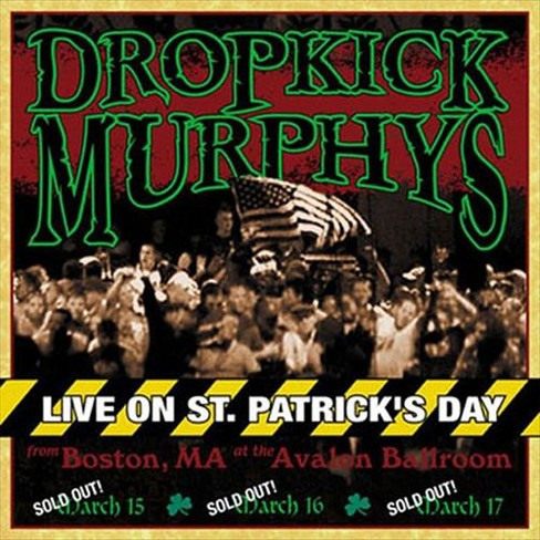 Dropkick Murphys - Live on St. Patrick's Day From Boston, MA (Vinyl) - image 1 of 1