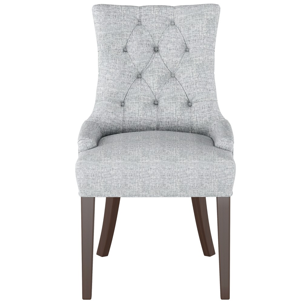 Amazing English Arm Dining Chair Pumice Gray Linen Threshold Andrewgaddart Wooden Chair Designs For Living Room Andrewgaddartcom
