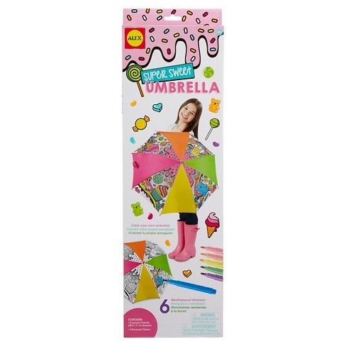 ALEX Toys Craft Super Sweet Umbrella - image 1 of 6