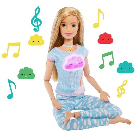 Barbie Breathe With Me Meditation Blonde Doll image number null