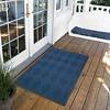 Blue Solid Doormat - (3'x5') - HomeTrax - image 2 of 4