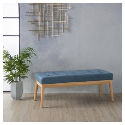 Saxon Upholstered Bench - Christopher Knight Home : Target