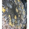 """24"""" x 24"""" Gray Floral Embellished Framed Canvas Black/Gold - New View - image 3 of 4"""