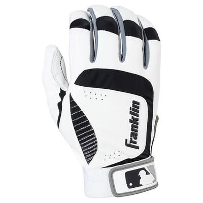 Franklin Sports Shok-Sorb Neo Batting Glove - White/Black