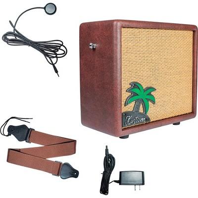 Kustom KUA10 10W 1x6 Ukulele Combo Amplifier with Pickup and Amp Strap