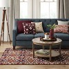 Latimer Orosia Hand Tufted Rug Coral Red - Threshold™ - image 3 of 3