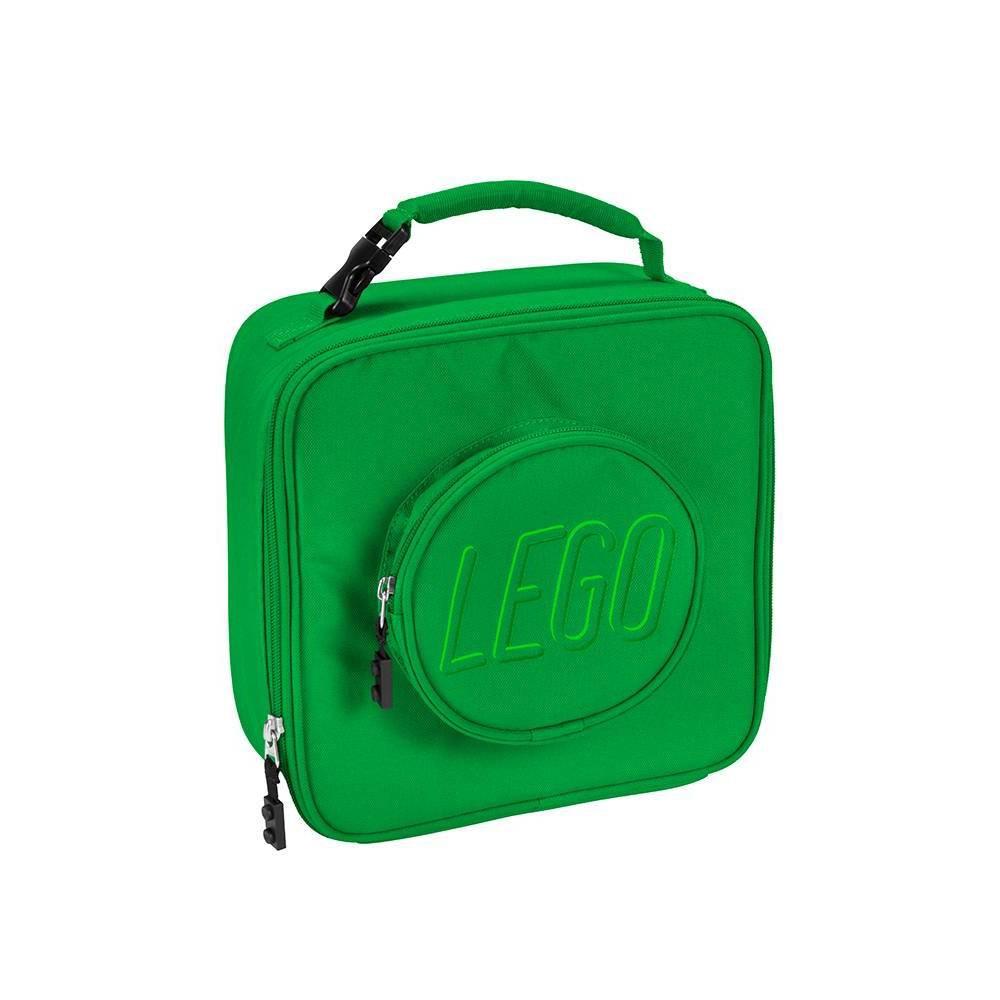 Lego Brick Lunch Bag Green