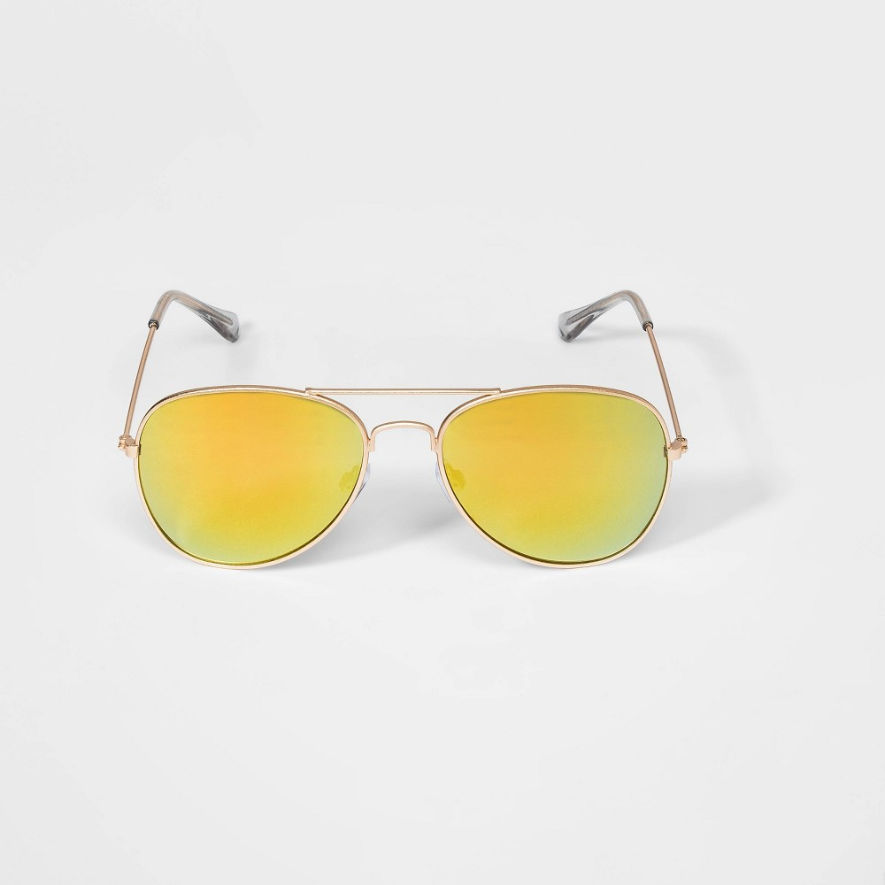 Image of Boys' Aviator Sunglasses - art class Gold, Boy's