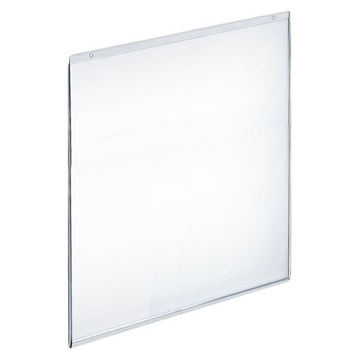 "Azar 17"" x 22"" Wall U-Frame Acrylic Sign Holder 10ct"