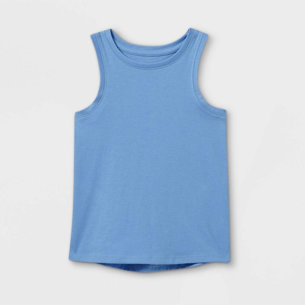 Toddler Girls 39 Tank Top Cat 38 Jack 8482 Blue 18m