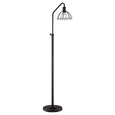 Gaius Floor Lamp Burnished Bronze (Includes Light Bulb) - Lite Source