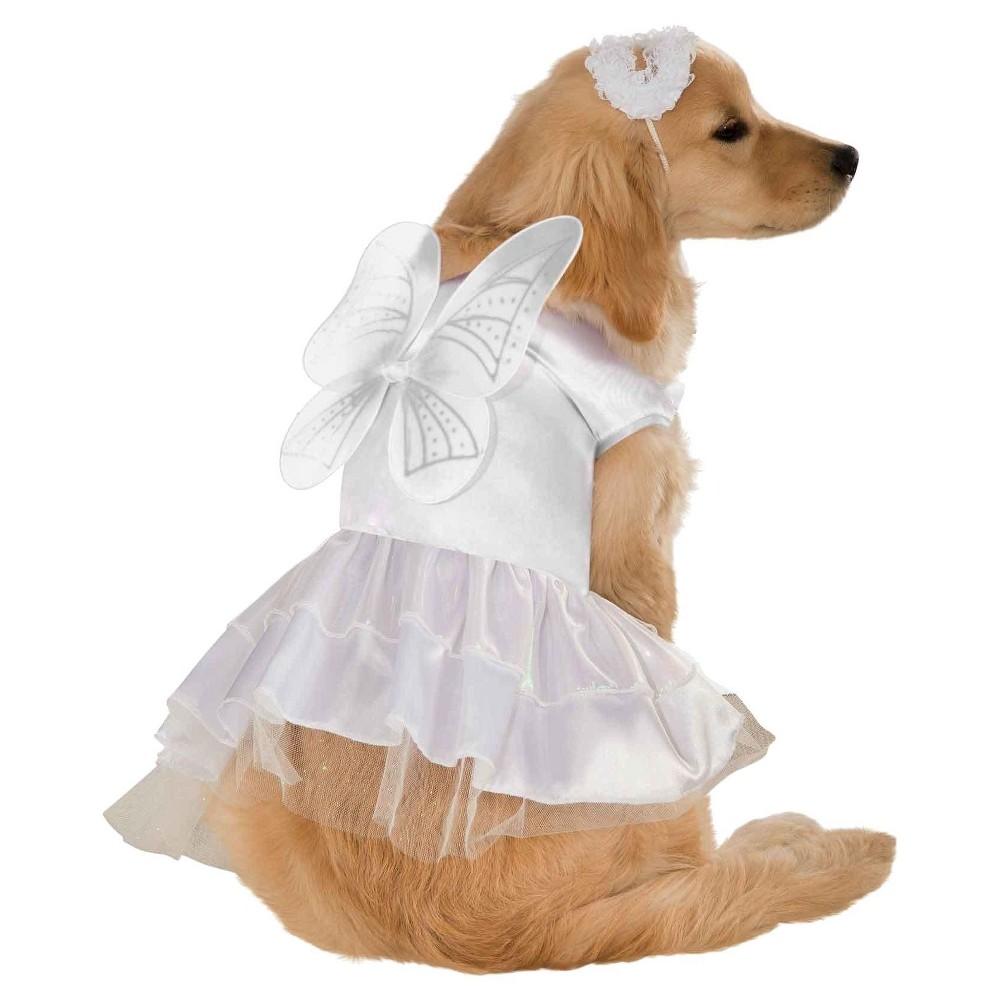 Rubie 39 S Angel Dog Costume White M