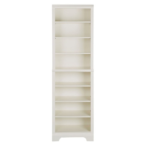 Naples Shelf Closet Wall Unit White Home Styles