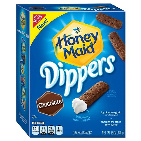 Honey Maid Dippers Chocolate Graham Crackers - 12oz - image 1 of 1