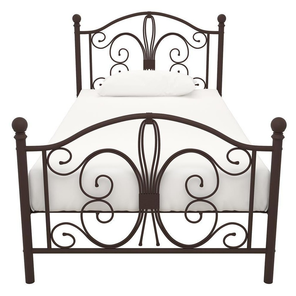 Image of Bombay Metal Bed (Twin) - Bronze - Dorel Home Products